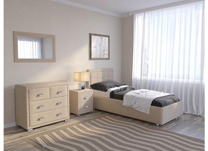 Кровать Como 2 Орматек (ткань и цвета люкс) Глазго бежевый