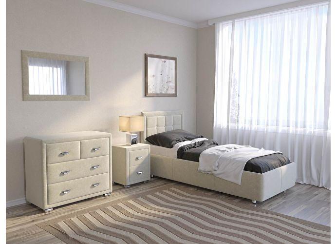 Кровать Como 2 Орматек (ткань и цвета люкс) Лофти лен