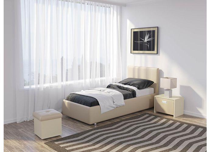 Кровать Como 3 Орматек Бежевый (Cream Terra-101)