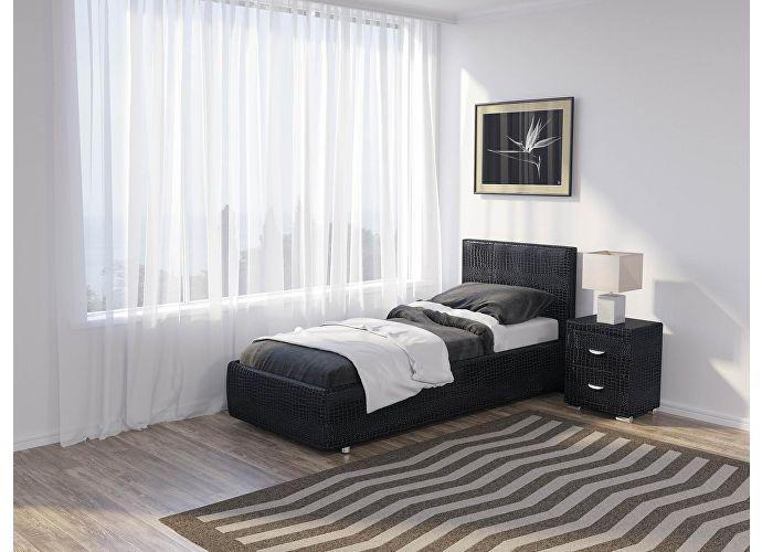 Кровать Como 3 Люкс Орматек кайман черный (20391)