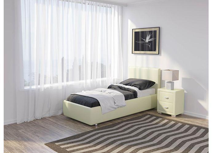 Кровать Como 3 Люкс Орматек молочный перламутр (5061)
