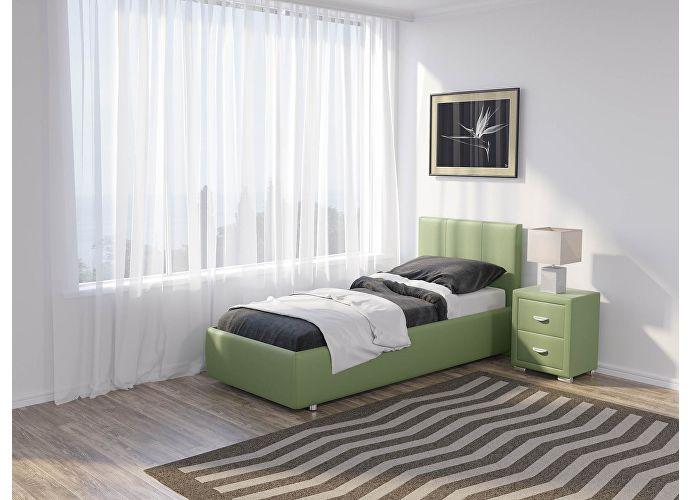 Кровать Como 3 Люкс Орматек зеленое яблоко