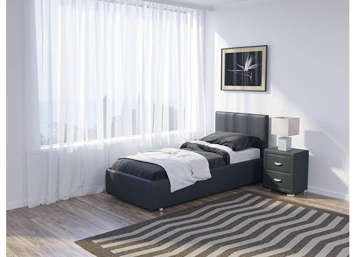 Кровать Como 3 Люкс Орматек темно-серый