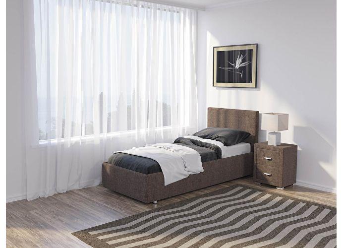 Кровать Como 3 Орматек (ткань) Глазго коричневый