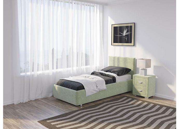 Кровать Como 3 Орматек (ткань) Лофти олива