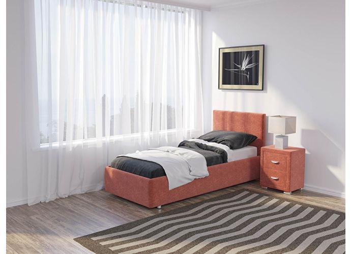 Кровать Como 3 Орматек (ткань) Лофти рыжий