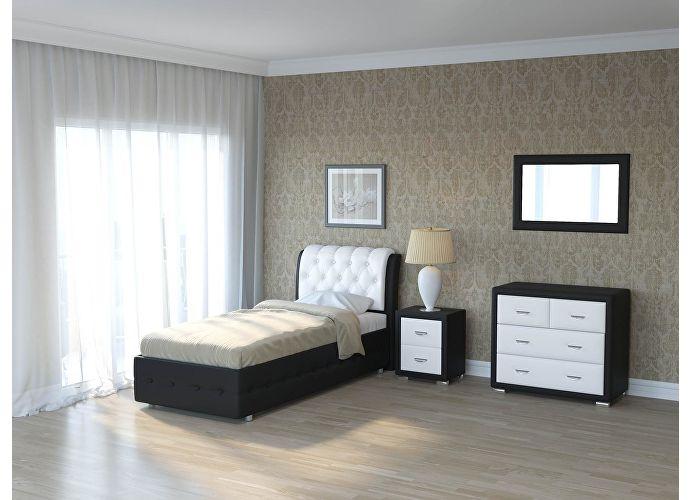 Кровать Como 4 Орматек Black (TM-6)/White (TM-14)