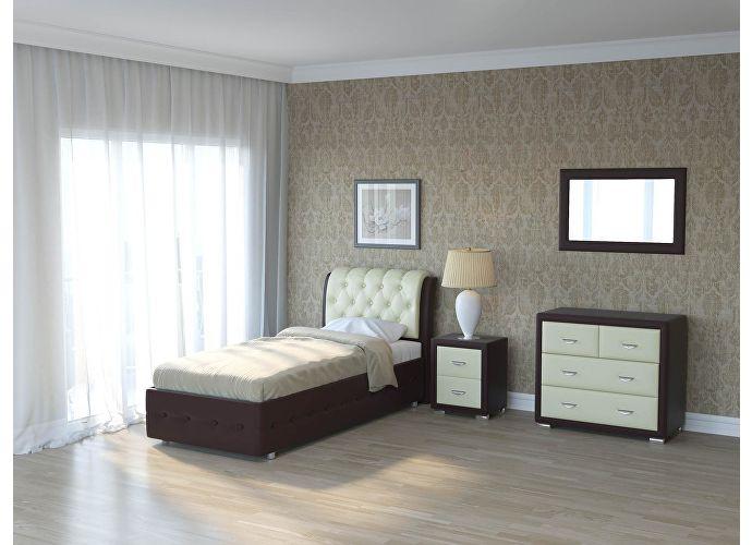 Кровать Como 4 Орматек Brown (TM-Venge)/Кремовый Cream (898)