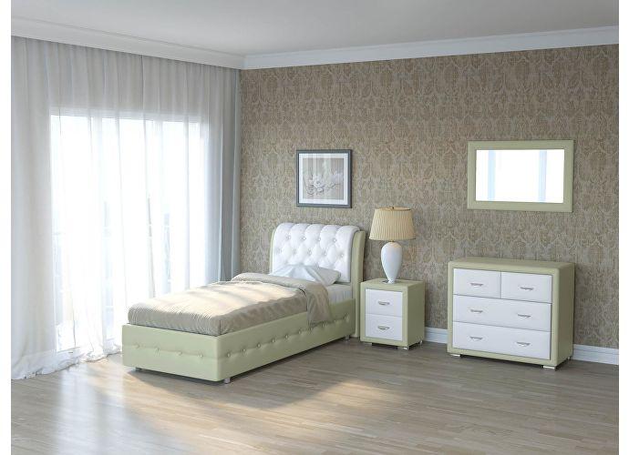 Кровать Como 4 Орматек Кремовый Cream (898)/White (TM-14)