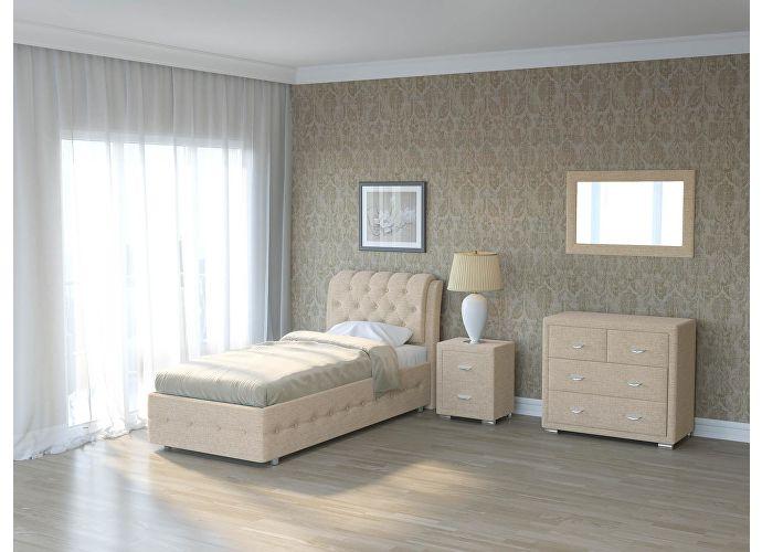 Кровать Como 4 Орматек (ткань и цвета люкс) Глазго бежевый