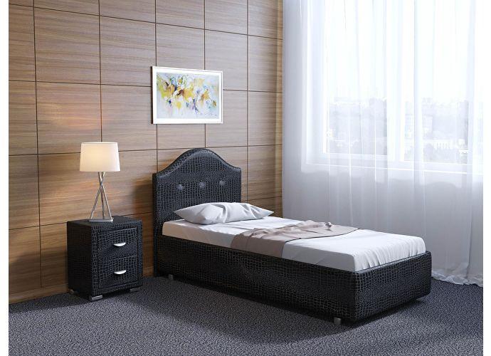 Кровать Орматек Como 7 цвета люкс и ткань Лофти бежевый