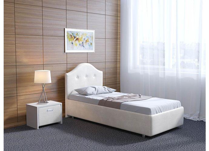 Кровать Орматек Como 7 цвета люкс и ткань Жемчуг Sprinter pearl (2247)