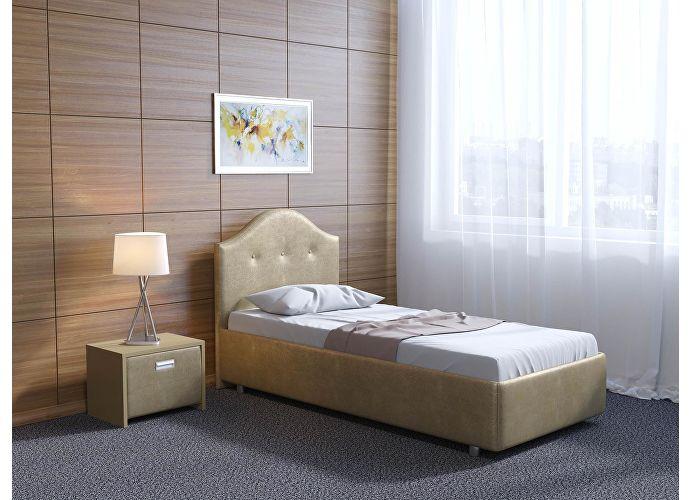 Кровать Орматек Como 7 цвета люкс и ткань Золото Sprinter gold (2331)
