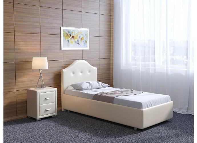 Кровать Орматек Como 7 цвета люкс и ткань Кайман черный (20391)