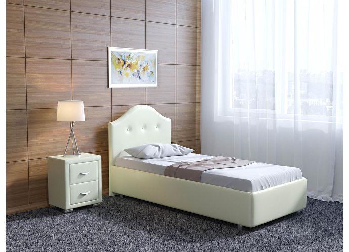 Кровать Орматек Como 7 цвета люкс и ткань Бронзовый перламутр (5069)