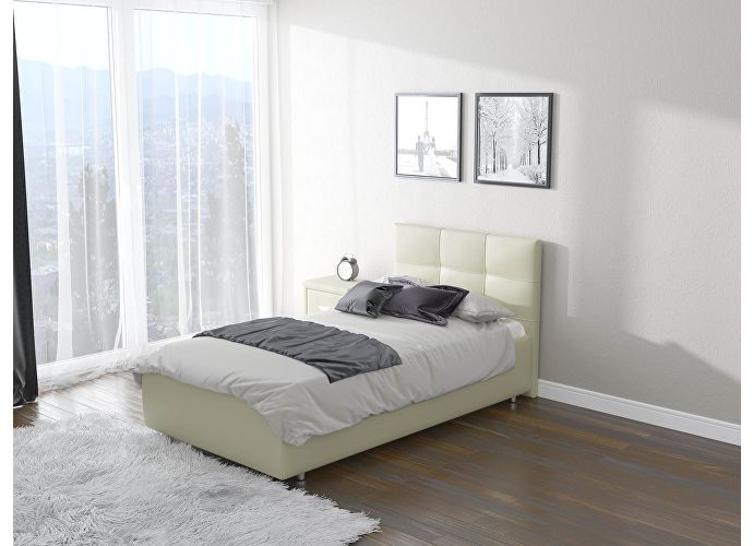 Кровать Life 1 Кремовый Cream (898)