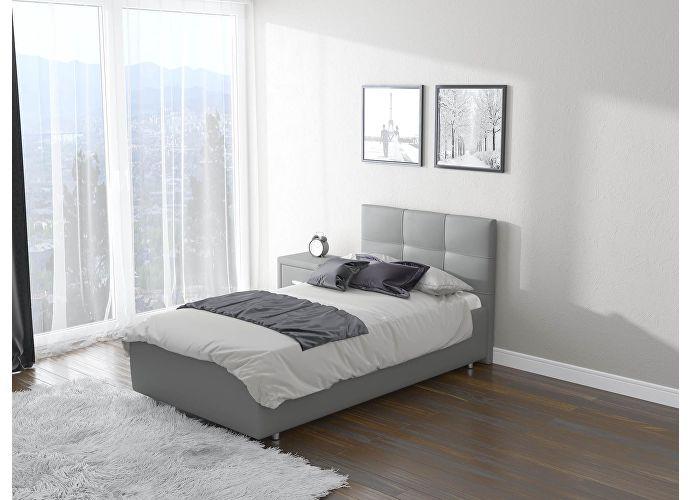 Кровать Life 1  цвета Люкс серый