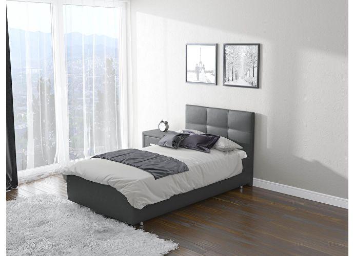 Кровать Life 1  цвета Люкс темно-серый