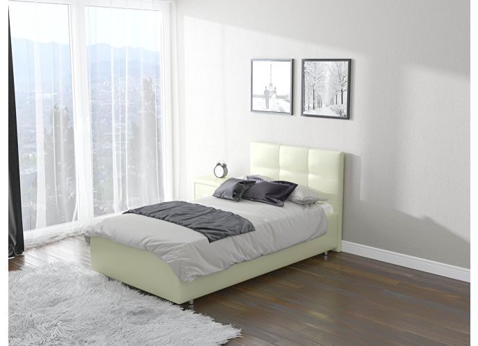 Кровать Life 1  цвета Люкс молочный перламутр (5061)
