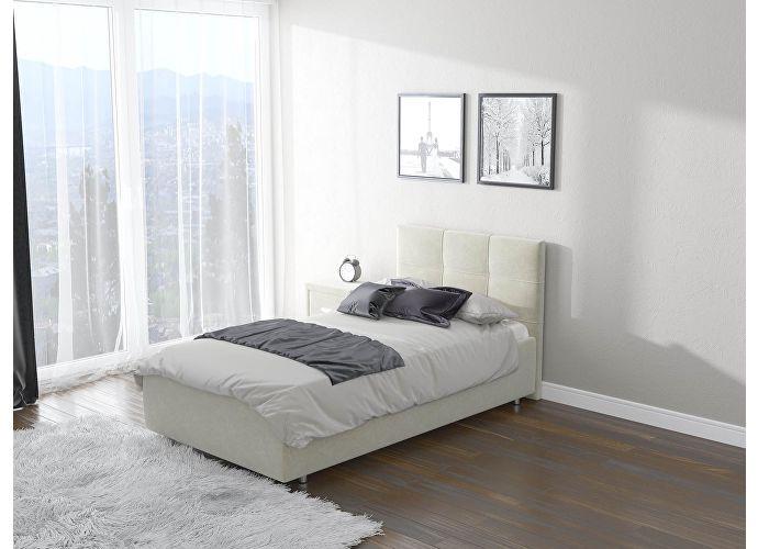 Кровать  Life 1 (ткань) Лофти лен