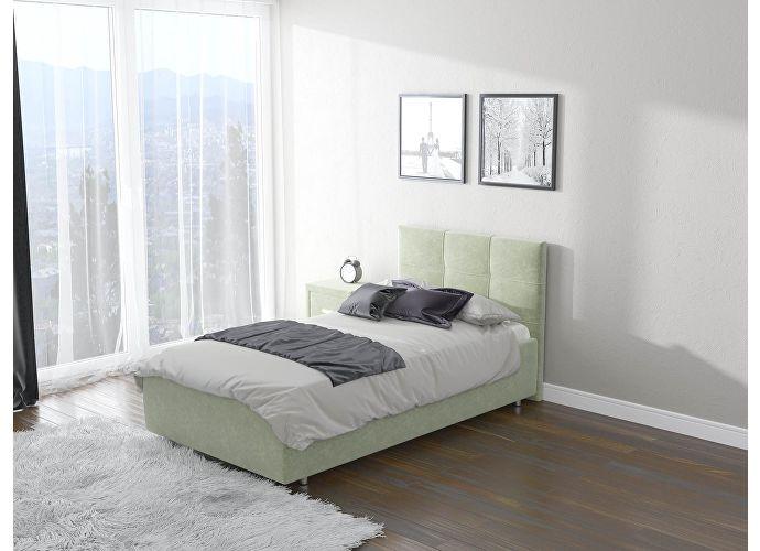 Кровать  Life 1 (ткань) Лофти олива