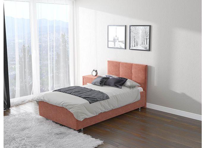 Кровать  Life 1 (ткань) Лофти рыжий