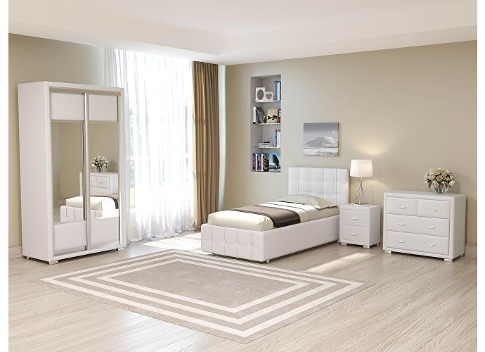 Кровать Life 3 White (TM-14)