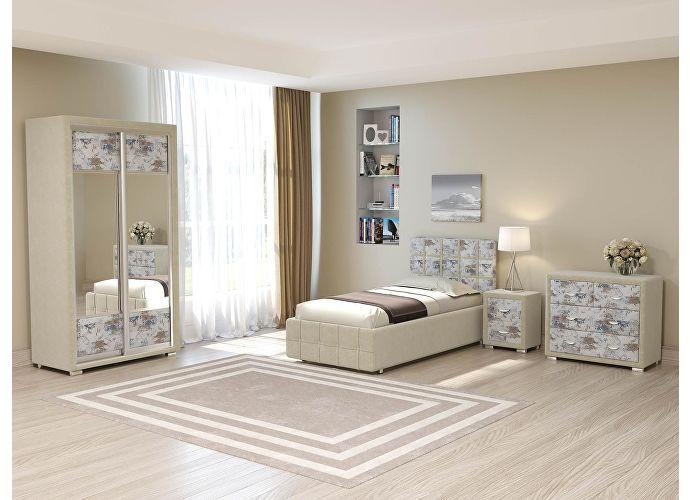 Кровать Life 3 (цвета люкс и ткань) Бронзовый перламутр (5069)