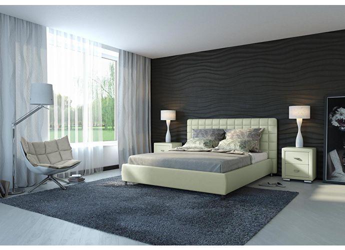 Кровать Орматек Corso-3 цвета люкс и ткань глазго серый