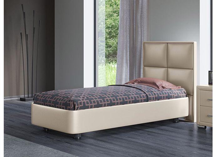 Кровать Орматек Rocky 2 цвета люкс и ткань Бежевый перламутр (5062)