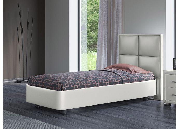 Кровать Орматек Rocky 2 цвета люкс и ткань Молочный перламутр (5061)