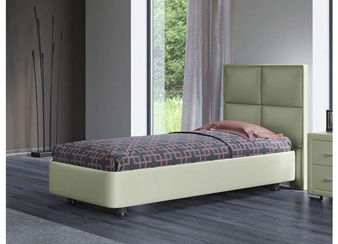 Кровать Орматек Rocky 2 цвета люкс и ткань Олива