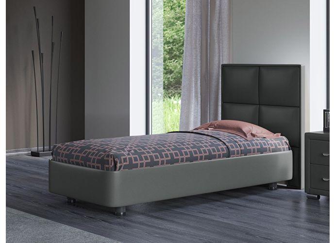 Кровать Орматек Rocky 2 цвета люкс и ткань Лофти зеленый