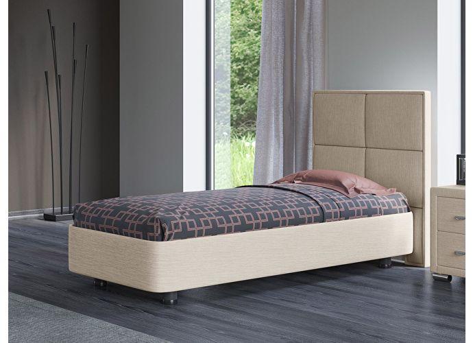 Кровать Орматек Rocky 2 цвета люкс и ткань Глазго бежевый