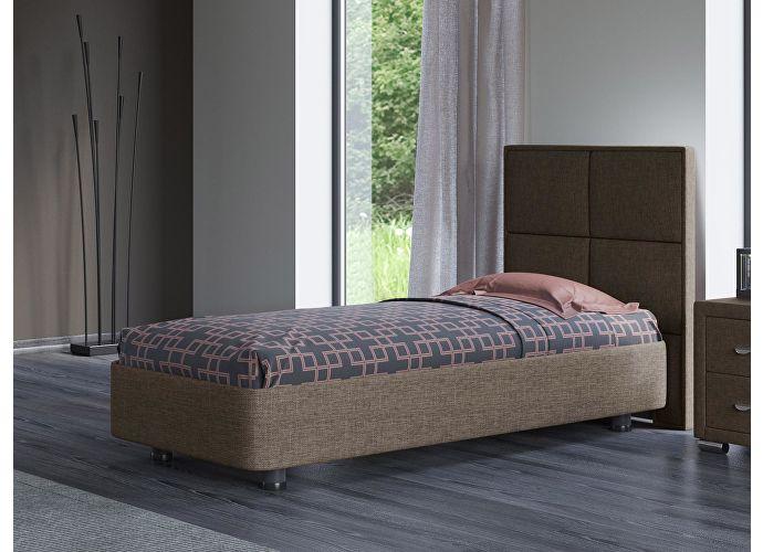 Кровать Орматек Rocky 2 цвета люкс и ткань Глазго коричневый