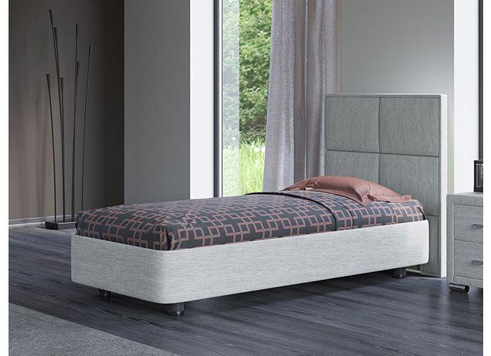 Кровать Орматек Rocky 2 цвета люкс и ткань Глазго серый