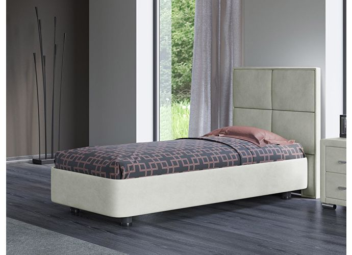 Кровать Орматек Rocky 2 цвета люкс и ткань Лофти лен