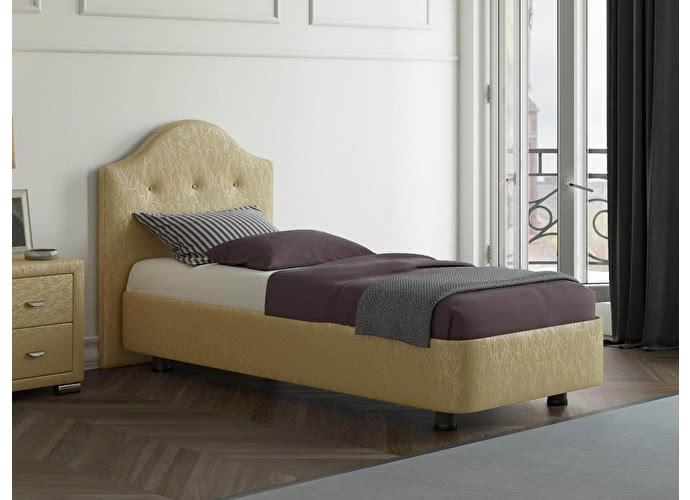 Кровать Орматек Rocky 3 цвета люкс и ткань Золото Sprinter gold (2331)