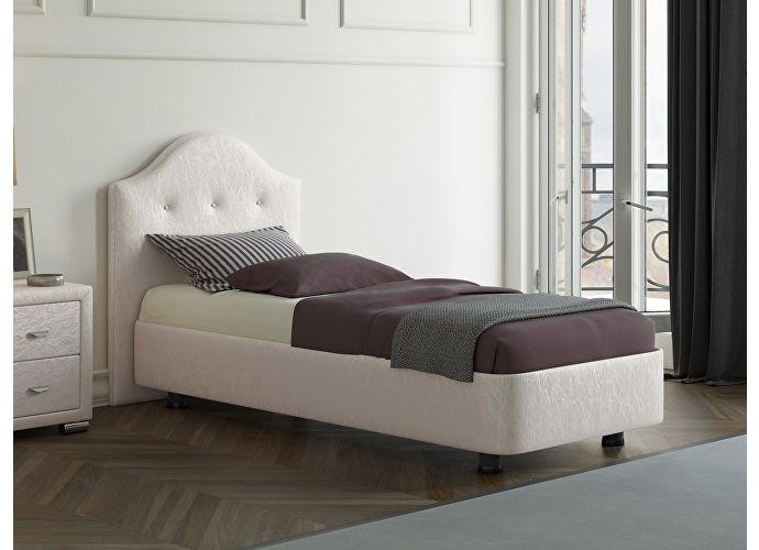 Кровать Орматек Rocky 3 цвета люкс и ткань Жемчуг Sprinter pearl (2247)