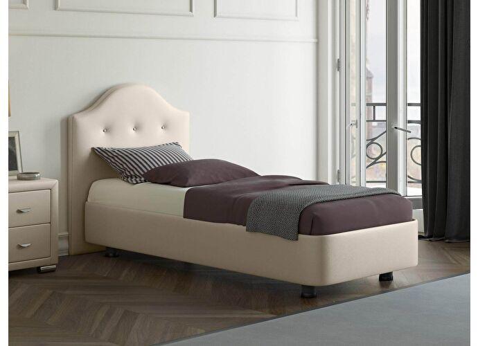 Кровать Орматек Rocky 3 цвета люкс и ткань Бежевый перламутр (5062)