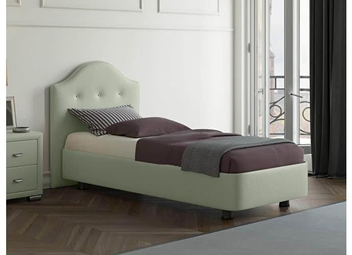 Кровать Орматек Rocky 3 цвета люкс и ткань Олива