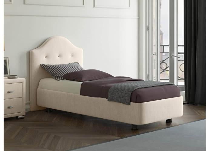 Кровать Орматек Rocky 3 цвета люкс и ткань Глазго бежевый