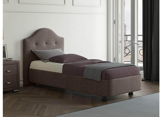 Кровать Орматек Rocky 3 цвета люкс и ткань Глазго коричневый