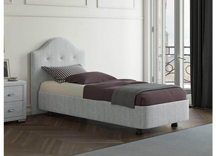 Кровать Орматек Rocky 3 цвета люкс и ткань Глазго серый
