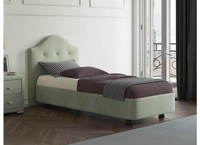 Кровать Орматек Rocky 3 цвета люкс и ткань Лофти олива