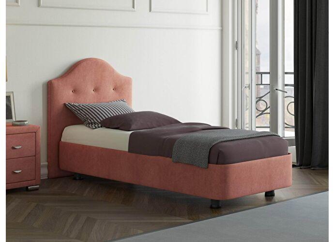 Кровать Орматек Rocky 3 цвета люкс и ткань Лофти рыжий