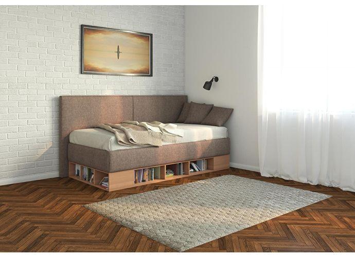 Кровать-тахта Орматек Lancaster (цвета люкс) белый/серый