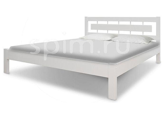 Кровать Шале Соло-2 белый эмаль+25%