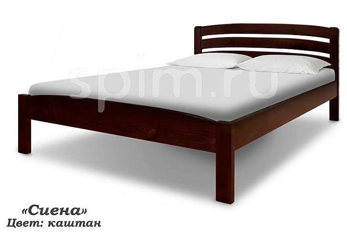 Кровать Шале Сиена каштан