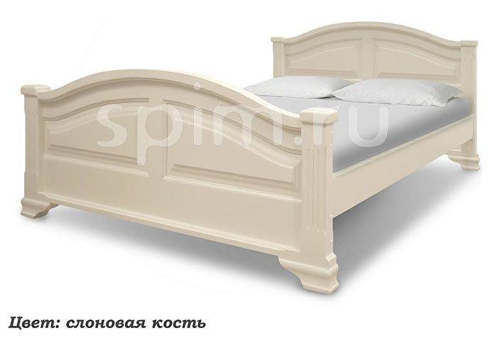 Кровать Шале Акатава слоновая кость+25%